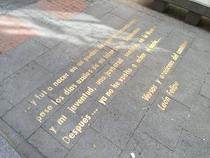 street poetry