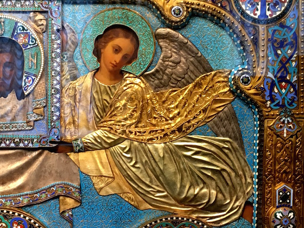 detail of an icon