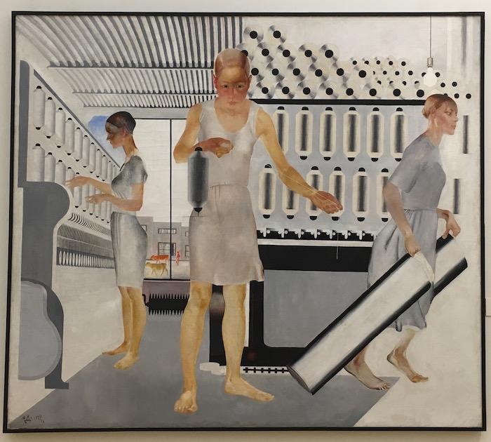 Alexander Dieneka, 1927, Textile Workers